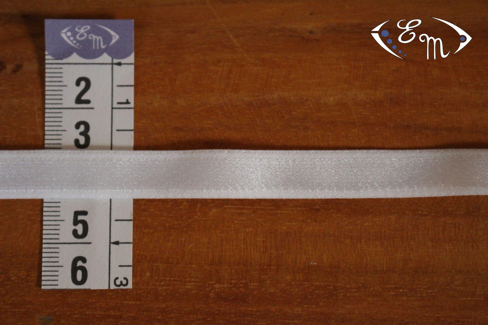 Élastique à bretelle écru10 mm