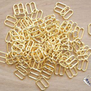 Régleurs dorés diamètre 10 mm (par paire)